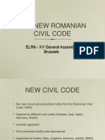 New Romanian Civil Code
