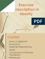 obesity exercise prescription.pptx