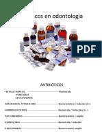 antibióticos en odontología