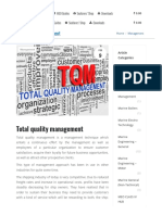 total quality management in marine industry