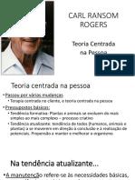 Aulas Sobre Rogers - Teoria Centrada No Cliente