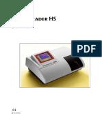Human HumaReader HS - User Manual