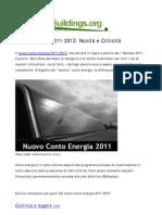 Conto Energia 2011-2013