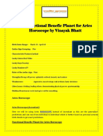Get Functional Benefic Planet for Aries Horoscope by Vinayak Bhatt