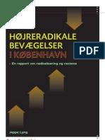 Højreradikale bevægelser i København - En rapport om radikalisering og racisme