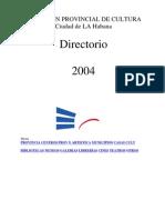 Directorio Cultural Cubano