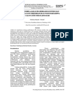 Analisis Pembelajaran Ipa Berbasis Konteks Dan