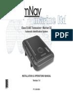 29010084 v1r4 Mariner X2 Installation Operation Manual