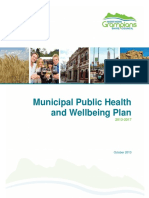Northern Grampians Health and Wellbeing Plan
