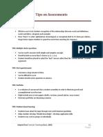 TIPS - Formats for Assessment