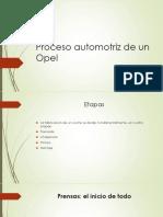 Proceso Automotriz de Un Opel
