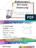 Endoscopic Biliary Stenting