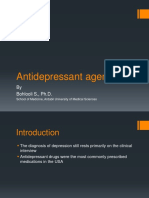 Antidepressant Agents