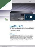 TL-SF1024D V2 Datasheet