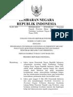 UU Nomor 19 Tahun 2009 (UU Nomor 19 Tahun 2009)