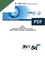 3GPP TS 38 410 (NG-RAN NG General Aspects and Principles Rel15 v0.0)