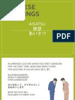 japanese greeting ppt beginner