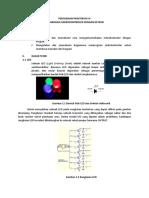 Percobaan Praktikum IV Keypad