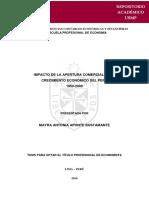 IMPACTO DE LA APERTURA COMERCIAL EN EL CRECIMIENTO ECONÓMICO DEL PERÚ.pdf