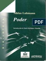 Luhmann - Poder