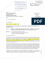 Carta No 016-2018 Entrega de Expediente a Electrodunas CP-01 y REP-02