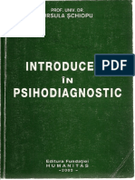 Ursula Schiopu Introducere in Psihodiagnostic