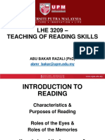 LHE3209-1- LHE3209 - Introduction to Reading