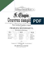 Ballade No. 1 in G Minor%2C Op. 23 - Complete Score