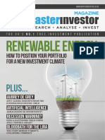 Renewable energy - How to position your portfolio for a new investment climate