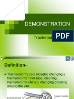 tracheotomy care