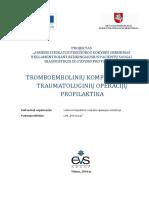 5.2. Tromboemboliniu Komplikaciju Profilaktika