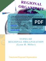 Regional Org. - Janine's report