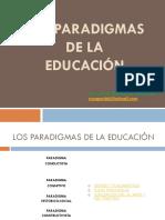 Paradigmas de La Educación