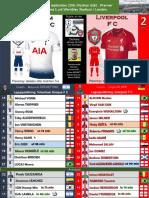 Premier League week 5 180915 Tottenham - Liverpool 1-2