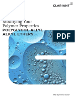 Reactive Polyglycol Ethers