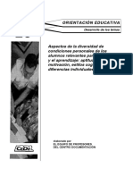 Tema 20. Oposiciones Orientación Educativa
