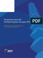 Programa Pp Europeo