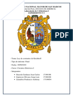 Informe Final 3 circuitos Electricos