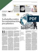 La Batalla Contra La Contaminación Por Plástico