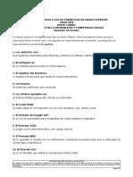 Soluciones Prueba de Acceso a Ciclos Formativos de Grado Superior Junio 2018 Tratamiento de La Información y Competencia Digital