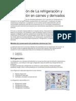 Aplicación de La refrigeración y congelación en carnes y derivados.docx
