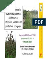 Protection contre la tavelure du pommier ciblée sur les infections primaires en production biologique.pdf