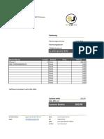 Rechnungsnummer 20181906