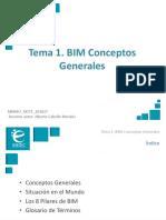 Presentación M1T1 BIM Conceptos Generales