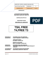 hormonii tiroidieni + TSH