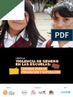 Violencia de género en las Escuelas