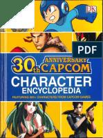 Capcom 30th Anniversay Character Encyclopedia