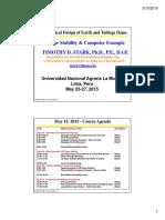 Topic 04 3DSlopeStability Peru May 2015