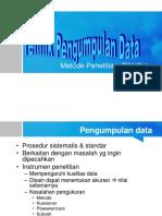 Tehnikpengumpulan data.ppt