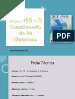 SCL 90 Factores Psicologicos. a Partir de 13 Años
